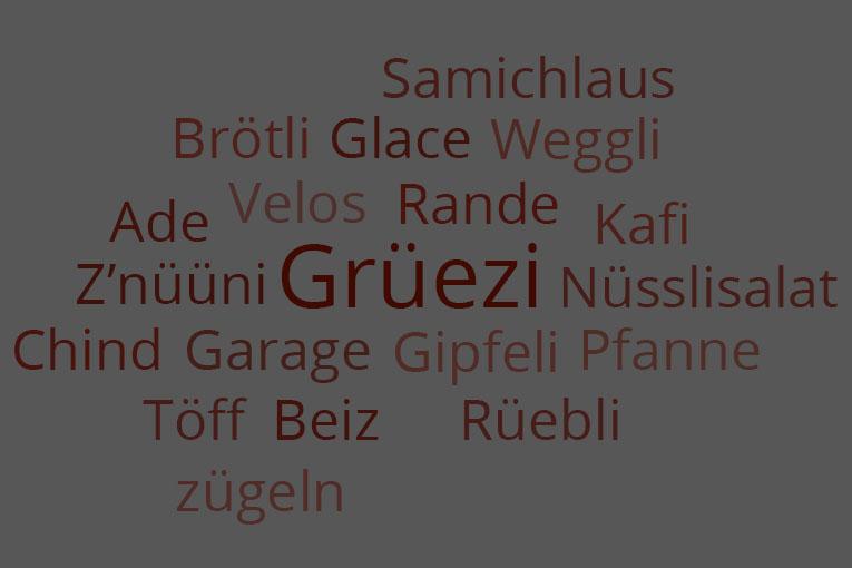 Język szwajcarski i 100 jego wersji
